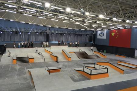 Todo listo para el International Skateboarding Open